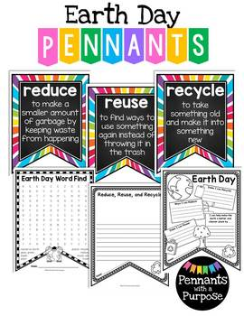 Earth Day Pennants - {Pennants with a Purpose}