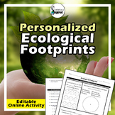 Earth Day - Personalized Ecological Footprint Online Activity