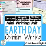 Earth Day Writing Mini-Unit:  Why We Should Conserve Earth's Resources