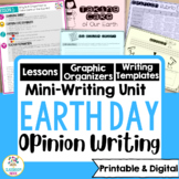Earth Day Writing Mini-Unit:  Why We Should Conserve Earth