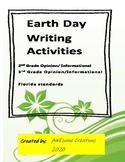Earth Day Persuasive Writing common core