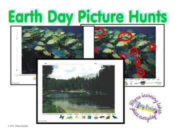 Earth Day Picture Hunts (or Searches)