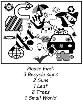 Earth Day Picture Search