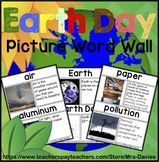Earth Day Picture Word Wall - Real World Pictures