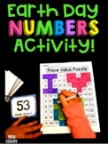 Earth Day Math Center Place Value 100 Chart Puzzle