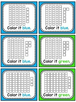 Earth Day Math Center Activity Place Value 100 Chart Puzzle