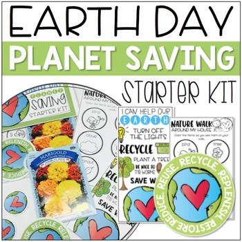 Earth Day: Planet Saving Starter Kit