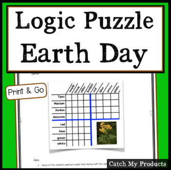 Earth Day Activities - Logic