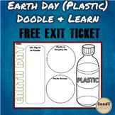 Earth Day (Plastic Pollution) Science Doodle Note w/ FREE EXIT TICKET