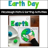 Earth Day Playdough Mats and Sorting Activities