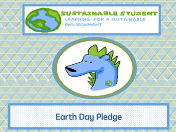 Earth Day Pledge