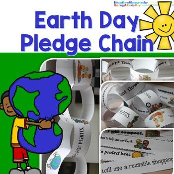 Earth Day Pledge Chain