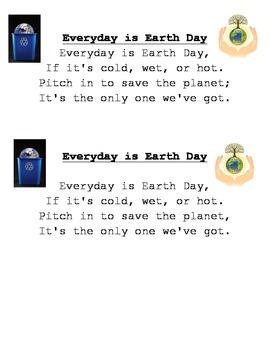 **FREEBIE** Earth Day Poem