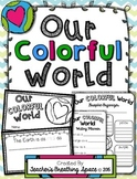 """Earth Day Book --- """"Our Colorful World"""" Book and Poem --- Earth Day Writing"""