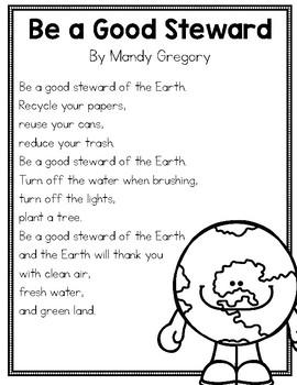 Earth Day Poem FREEBIE