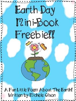 Earth Day Poem Mini-Book Freebie!!