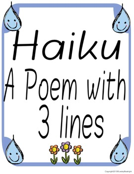 Syllables:  Earth Day Poetry - A Language Arts Integrated Craftivity