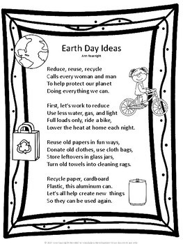 Earth Day Poetry
