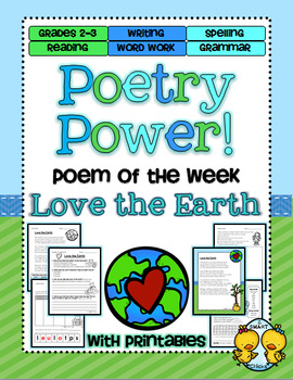 Earth Day Poetry Power! Daily Literacy Practice