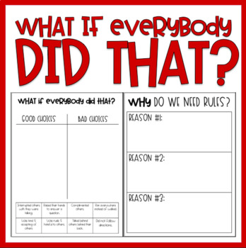 What If Everybody Did That? / Read-Aloud Book Companion