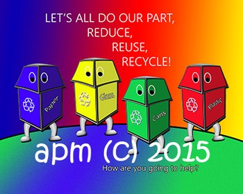 Earth Day Poster, Clip Art