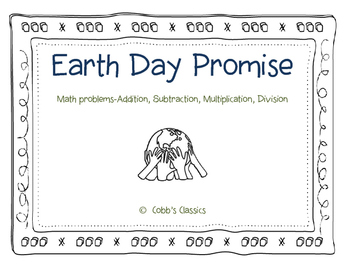 Earth Day Poster-Math