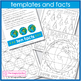 Earth Day Poster and globe doodle art activity pack