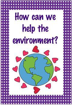 Earth Day Posters PreK/K
