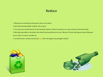 Earth Day Power Point presentation