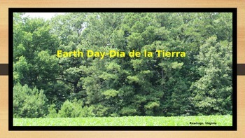 Earth Day Class Discussion Activity