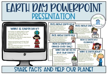Earth Day PowerPoint and Tasks