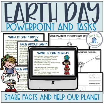 Earth Day - PowerPoint and Tasks