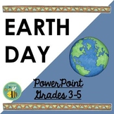Earth Day PowerPoint {blank template included}