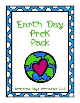 Earth Day PreK Printable Pack