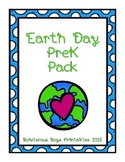 Earth Day PreK Printable Pack