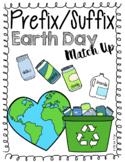 Earth Day Prefix/ Suffix Match Up