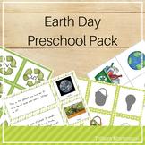 Earth Day Preschool Pack