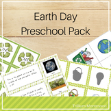 Earth Day Preschool Pack