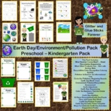 Earth Day Preschool Through Kindergarten Pack #TpTDistance