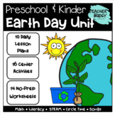 Earth Day - Preschool Unit complete with lesson plans, centers, worksheets