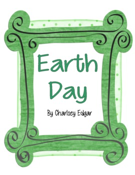 Earth Day Primary Grades Unit
