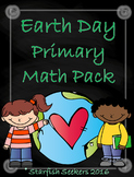 Earth Day Primary Math Pack
