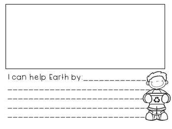Earth Day Primary Writing Prompts