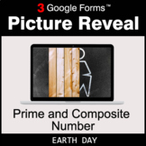 Earth Day: Prime and Composite Number - Google Forms Math