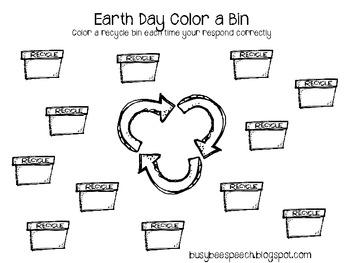 Earth Day Printable Activities FREEBIE