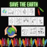 Earth Day Printable Coloring Sheets