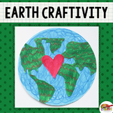 Earth Day Printable Craft Template
