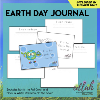 Earth Day Printable Journal