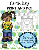 Earth Day Printable Worksheets (3rd grade)
