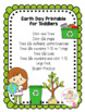 Earth Day Printable for Toddlers